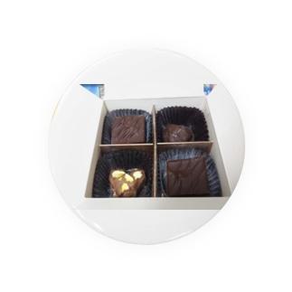 チョコはチョコだけど食べれないヤツ Badges