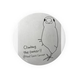 クライミング文鳥 Badges