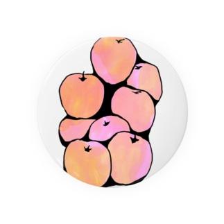 リンゴ Badges