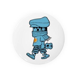 レレボーイ(ブルー) Badges