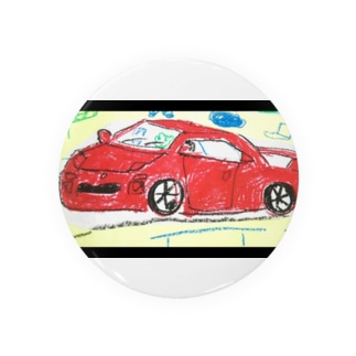 赤い車 Badges