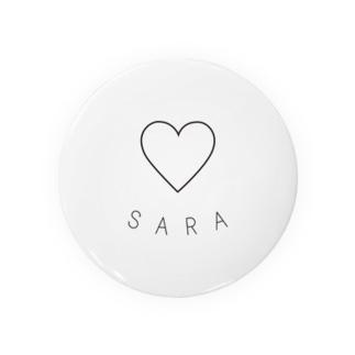 SARA 缶バッジ