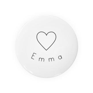 Emma 缶バッジ