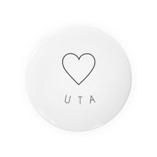 UTA 缶バッジ