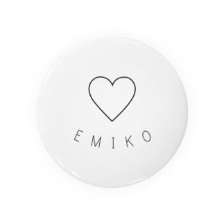 EMIKO 缶バッジ