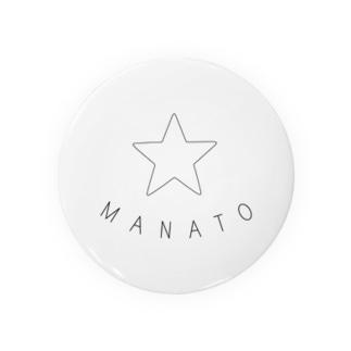 MANATO 缶バッジ