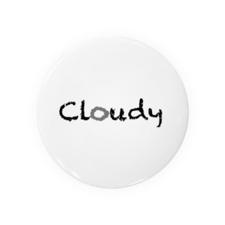 Cloudy 缶バッジ