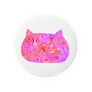 猫も愛せばにゃーと鳴く暖色 Badges