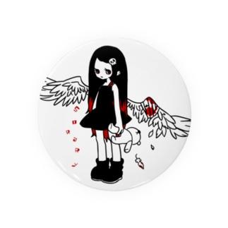 負傷天使ちゃん Badges