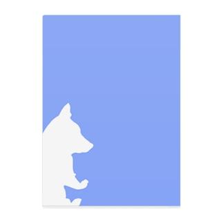 しばいぬさん5 Clear File Folder