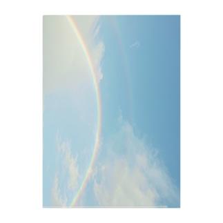 rainbow猫 Clear File Folder