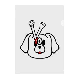 エキセントリッククアニマル 犬 Clear File Folder