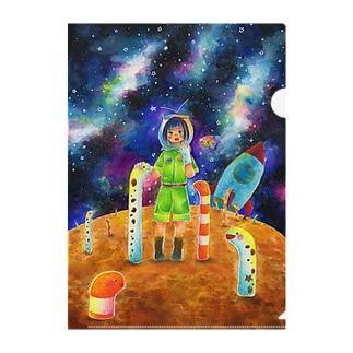 チンアナゴの星 Clear File Folder