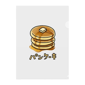 パンケーキ Clear File Folder