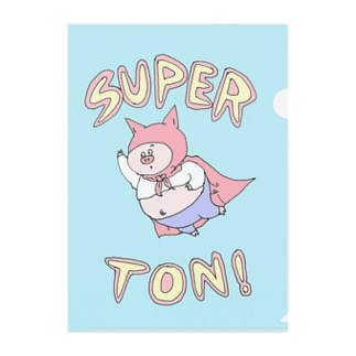 SUPER★TON Clear File Folder