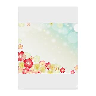 難波津に Clear File Folder