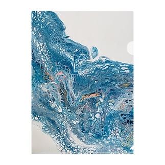 水の記憶 Clear File Folder