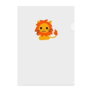 ramu-chanのライオンちゃん Clear File Folder