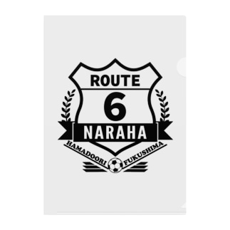 ROUTE6 楢葉ver. -サッカー- Clear File Folder