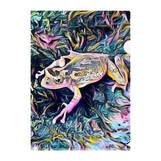 Fantastic Frog -Highlight Version- Clear File Folder