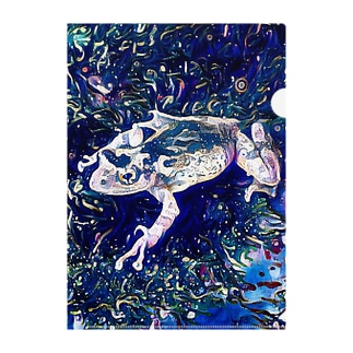 Fantastic Frog -Cosmos Version- Clear File Folder