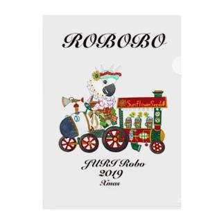 ROBOBO ジュリロボ Clear File Folder