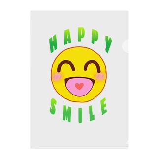 HAPPY SMILE ~ 笑顔 ~ Clear File Folder