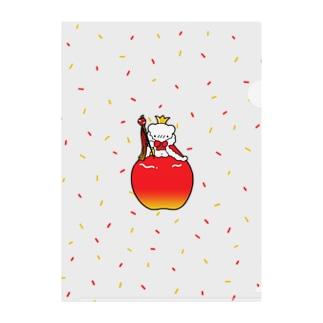 りんごの王様 Clear File Folder
