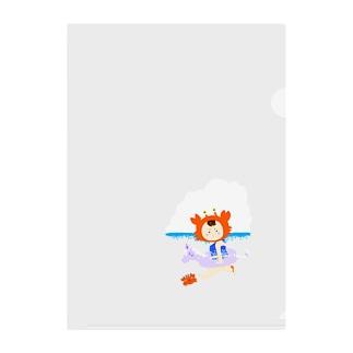 リトルアヤカ(海) Clear File Folder