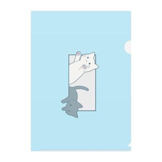 とびだす猫 Clear File Folder