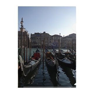 The World Trip ~ヴェネツィア2~ Clear File Folder