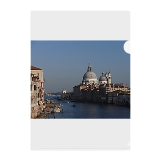 The World Trip ~イタリア ヴェネツィア~ Clear File Folder