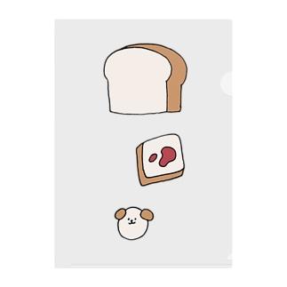パン、パン、ワン Clear File Folder