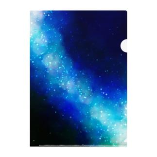 天の川 Clear File Folder