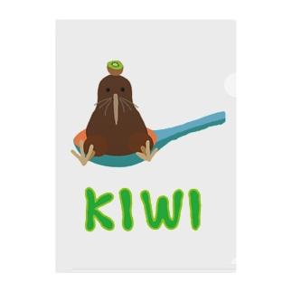 KIWI Clear File Folder