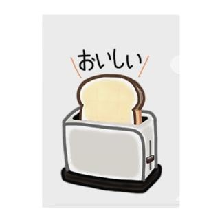おいしく焼けた食パン Clear File Folder