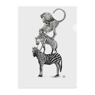 ワイルドブレーメン(Love All Wild Animals) Clear File Folder