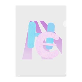 ハッピーイナフ Clear File Folder