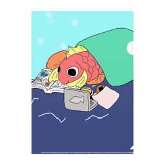 ごろごろし鯛(たい)01(完全版)-ごろ鯛(たい) Clear File Folder