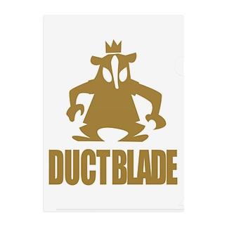 DUCTBLADE Clear File Folder