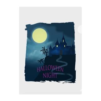 Halloween night Clear File Folder