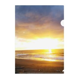 きらめく浜辺 Clear File Folder