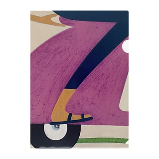 Delivery? Yes, we do! Clear File Folder