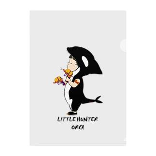 Little hunter orca 背景透明 Clear File Folder
