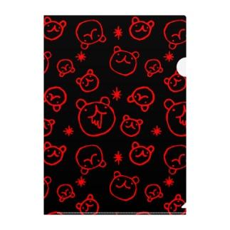 RED BLOOD UGERO Clear File Folder