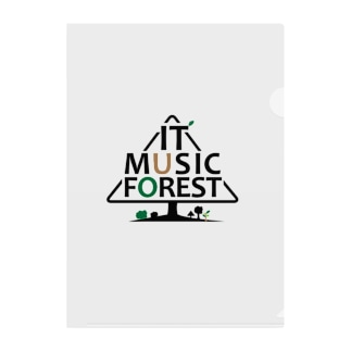 IT MUSIC FOREST チャリティーグッズ Clear File Folder