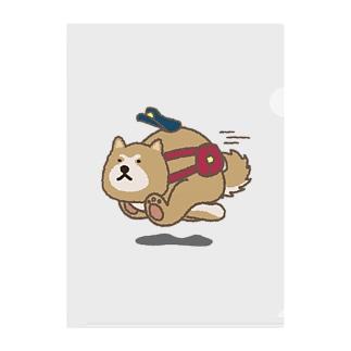 あっあっ秋田犬(郵便屋さん) Clear File Folder