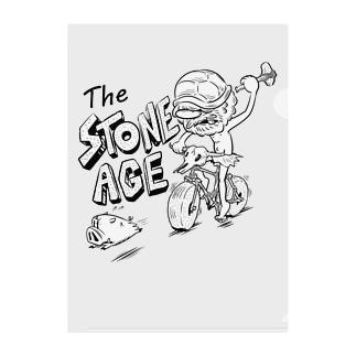 """The STONE AGE"" #1 Clear File Folder"