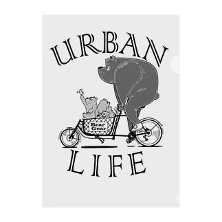 """URBAN LIFE"" #1 Clear File Folder"