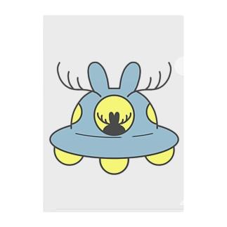 UFO「ジャッカロープ号」 Clear File Folder